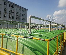 污水站玻璃钢加盖工程
